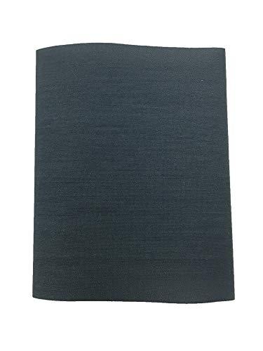 Haberdashery Online 1 Parche Termoadhesivo, Tela reparadora para pantalón. 30x9 cms (11. Gris Oscuro)
