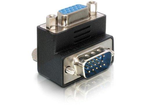 VGA 90 Grad Winkeladapter | Stecker /  Buchse | nach oben von Delock