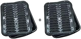 Range Kleen Oven Broiler Pan With Rack 16 x 12.5 x 1.6