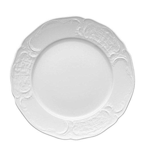 Rosenthal Sansoucci - Vajilla de 18 piezas, color blanco (Weiss)