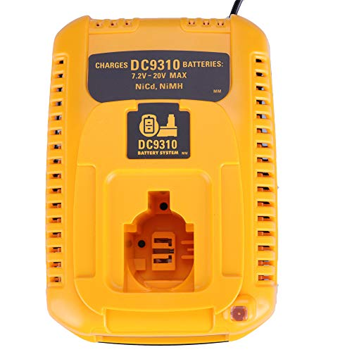 LaiPuDuo DC9310 For Dewalt 7.2V-18V NI-CD NI-MH battery charger for Accessory electric drill tool DE9330 DW9116 DE9130