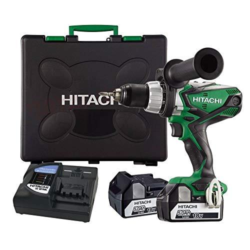 Hitachi DS18DSDLWJ - Taladro Atornillador 18v bateria deslizante Li ION 5,0 Ah