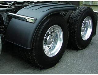 Trux Poly Half Fenders - Pair, Black, Item Number TFEN-H39