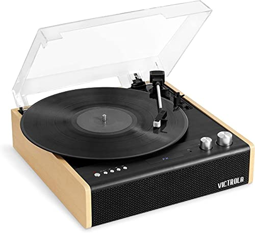 Victrola Eastwood 3-Speed Bluetooth Turntable with Built-in Speakers...