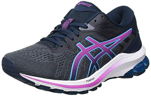 ASICS Women's GT-1000 10 Running Shoe, French Blue Digital Grape, 5 UK
