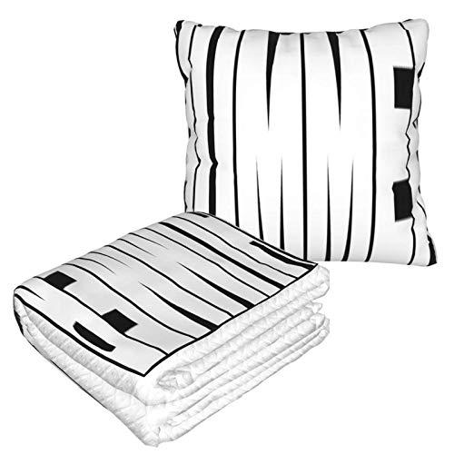 AEMAPE Hummer Car Pillow Blanket Sofa Blanket, Travel Pillow Blanket, Warm and Thick, Airplane Plush Neck Pillow Thrown for Sleep-866