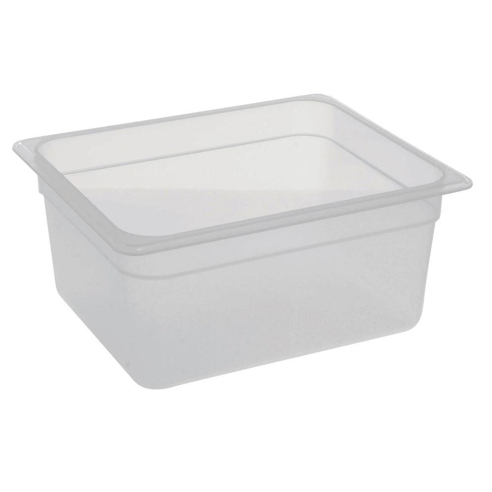 Regular dealer Cambro Food Pan 1 2 Deep Translucent Animer and price revision 6'' Size Polypropylene