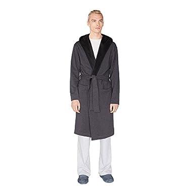 UGG Men's Alsten Robe Black Bear Heather Robe
