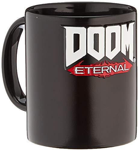Numskull Official DOOM EternalMetal Badge Heat Changing Mug