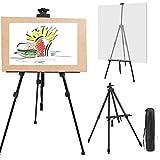 TEKSHOPPING - Caballete trípode para Pintar con Soporte para menús para Restaurante, Cuadro de Boda, Pintura de Tela, Dibujo Pintor