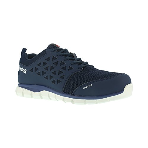 Reebok WORK ib1030S1P 40Excel Licht Aluminium Fuß Athletic PR Work Schuh, 40, marineblau/weiß