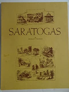 SARATOGAS - A HISTORY OF THE SPRINGS, MINERAL WATER BOTTLES WHICH ARE KNOWN AS SARATOGAS ...