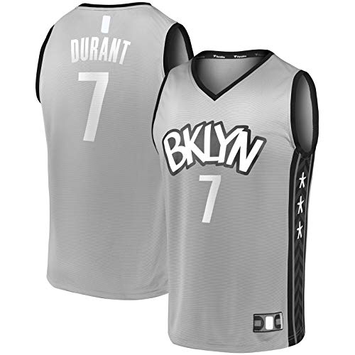 HFHDF Camiseta de baloncesto sin mangas al aire libre #7 Fast Break jugador Movimiento Jersey Carbón - Edición Declaración