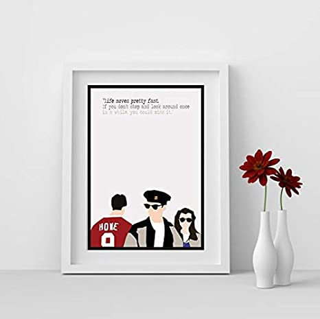 no frame Ferris Bueller/'s Day Off Movie Poster Poster Home Art Wall Gifts