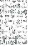 RIDDER 46117-350 Duschvorhang Textil ca. 120 x 200 cm, Neptun grau inklusive Ringe
