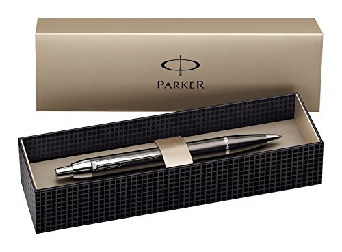 Parker Pen S0856490 Penna a Sfera, Linea Im Metal, gun metallo