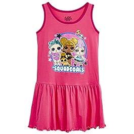 L.O.L. Surprise ! Robe Poupée LOL Confetti Pop | Robe Été Fille sans Manches Rose | Vêtements LOL Surprise pour Enfants…