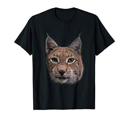 Luchs Design Luchse Wildkatzen Geschenk T-Shirt