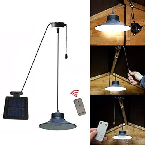 Energie Solaire En Métal Noir Outdoor DEL Bougie Lanterne pour Jardin et Patio 30.5 cm