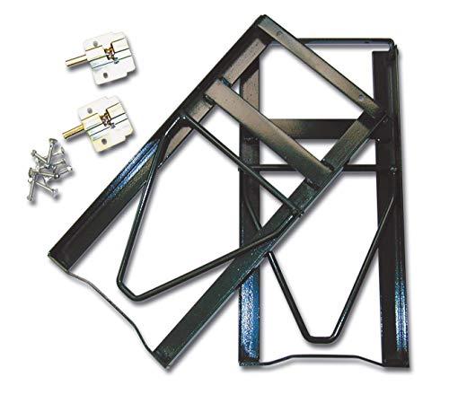 Minutex Eisen-Set, zusammenklappbar, lackierter Stahl, 2 Stück