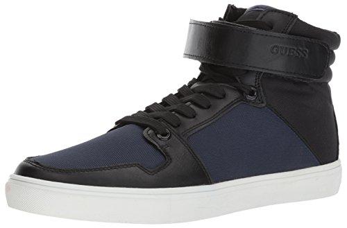 GUESS Men's TROTTA Sneaker, Blue, 9