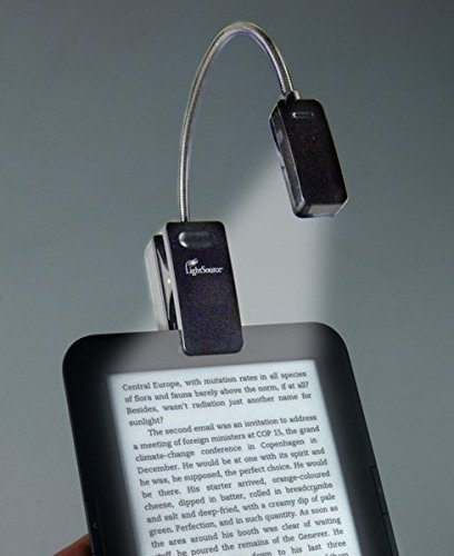 eBook Reader Booklight | Leselampe | Schwarz: LED Leselicht