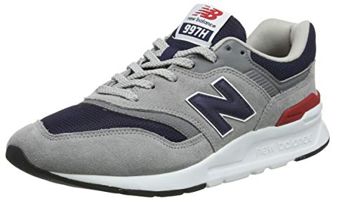 New Balance Herren 997H Core Trainers, Grau (Team Away Grey), 44.5 EU