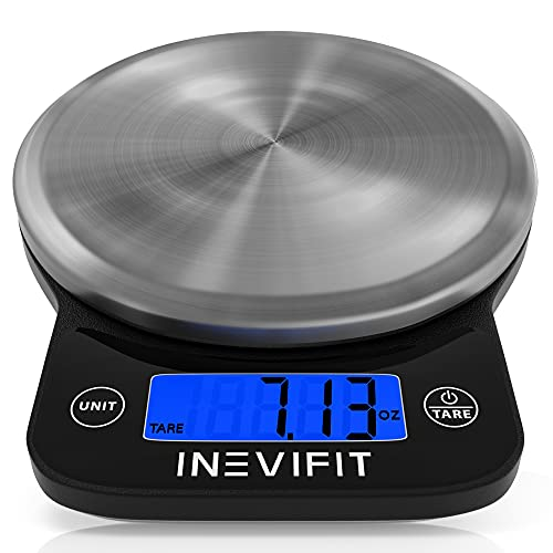 INEVIFIT Digital Kitchen Scale, Highly Accurate...