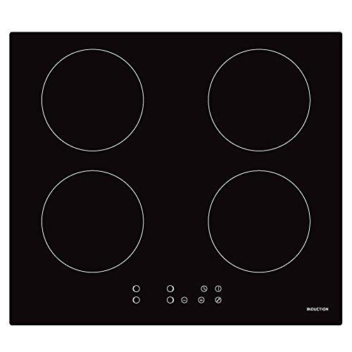 Cookology CIP613 Plug-in Induction Hob   60cm, Black, Built-in, 13 Amp