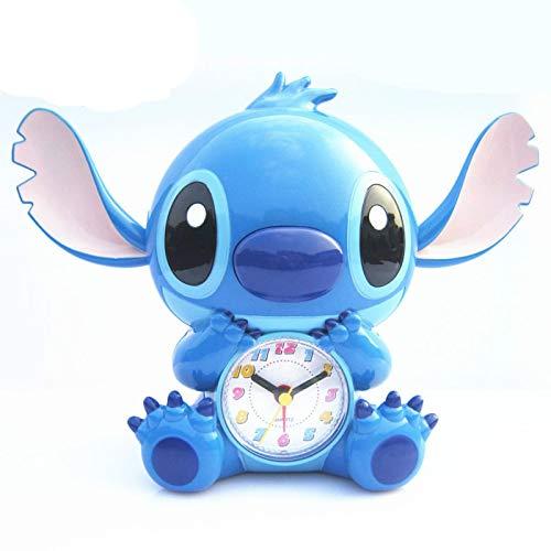 WWWL Reloj despertador Baby Stitch Dibujos animados creativo lindo hablar despertador reloj infantil regalo despertador
