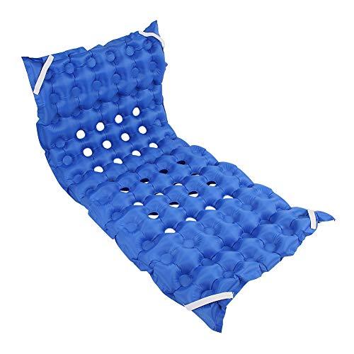 Luftmatratze Aufblasbares Anti-Dekubitus-Matratzenpolster mit Luftpumpe für ältere bettlägerige Patienten - Blau