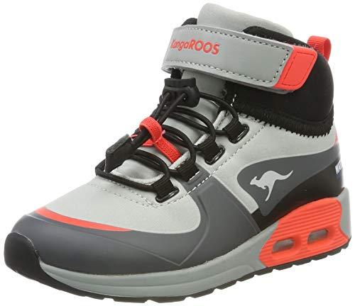 KangaROOS Kanga X Hydro Unisex-Kinder Stiefel, Grau (Steel Grey/Red 2015), 38 EU