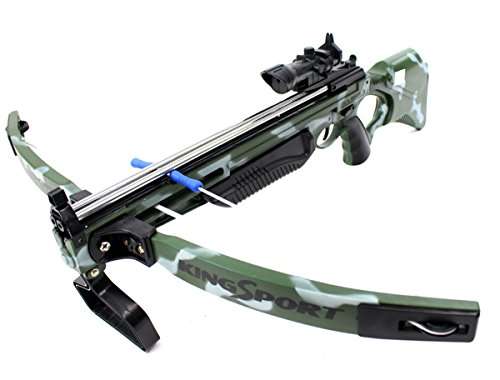 COTTONTAIL Kids Deluxe Action Military Crossbow Set with Scope