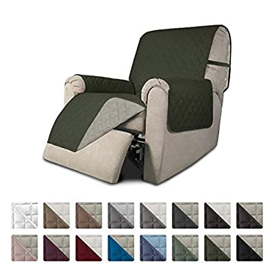 Easy-Going Recliner Sofa Slipcover Reversible Sofa Cover Furniture Protector Couch Cover Water Resistant Elastic Straps Pets?Kids?Dog?Cat