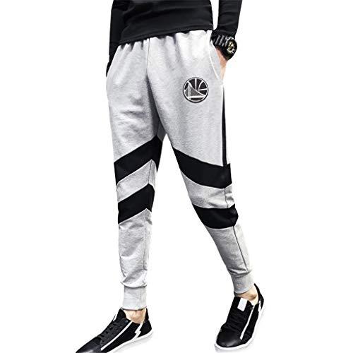 NBA Golden State Warriors Sportbroek voor heren, atletiek, modieus, basketbal, joggingbroek, casual, comfortabel, losse team-logo-broek voor de jeugd.