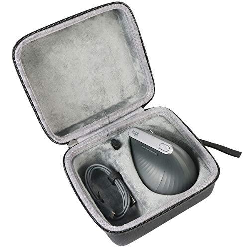 co2CREA Duro Viaggio Caso Copertina per Logitech MX Mouse Verticale Wireless Ergonomico(solo scatola)(Mouse Caso & Componenti)