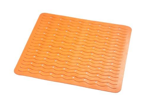 RIDDER 68414-350 Duscheinlage 54 x 54 cm Playa, neon-orange