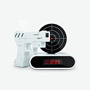 10 Year Old Boys Love Toy Guns Almost As Much They Hate Alarm Clocks Let Them Take Out Their Early Morning Aggression On The Clock By Shooting It