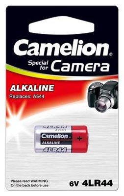 10 Stück Camelion Alkaline Foto Batterie 4LR44 6V