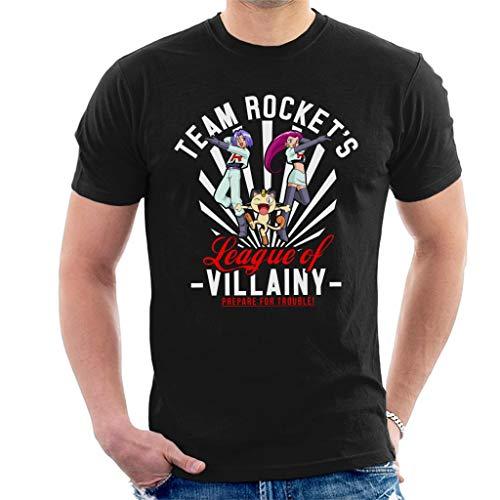 Cloud City 7 Team Rocket League of Villainy Men's T-Shirt