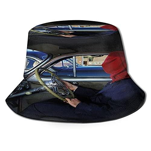 JChesterton The Mars Volta Frances The Mute - Gorro unisex con diseño de pescador de verano, color negro