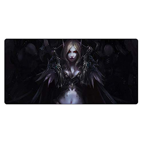 Mouse pad CDZXMM 60x30cm XXL Gaming Mouse Pad Gamer World of Warcraft Durable Soft Mousepad Computer Mat 60x30 cm Yellow