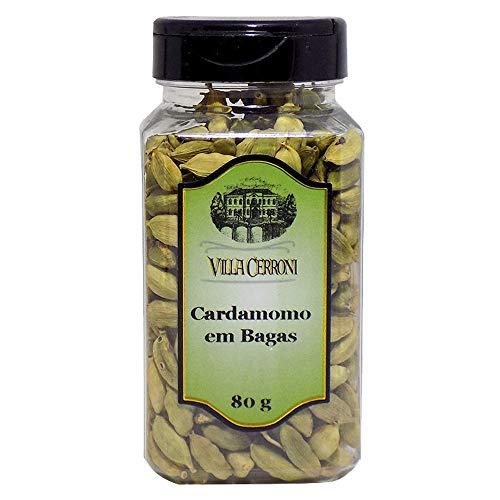 CARDAMOMO EM BAGAS 80g