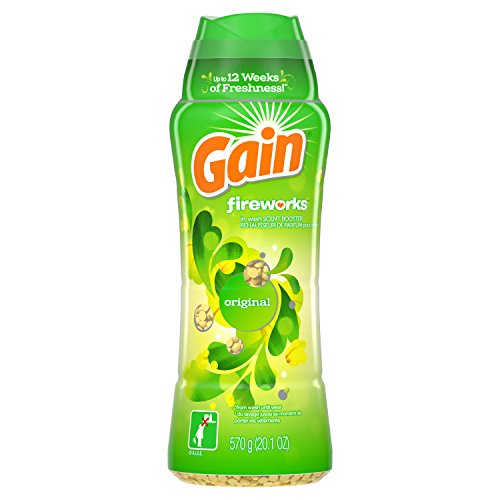 Gain Fireworks In-Wash Scent Booster, Original, 20.1 Ounce