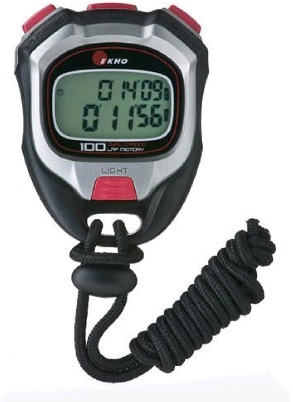 Ekho K-350 100 100 100 Lap Stoppuhr von Ekho B00SSK3WFY  Am praktischsten de33db