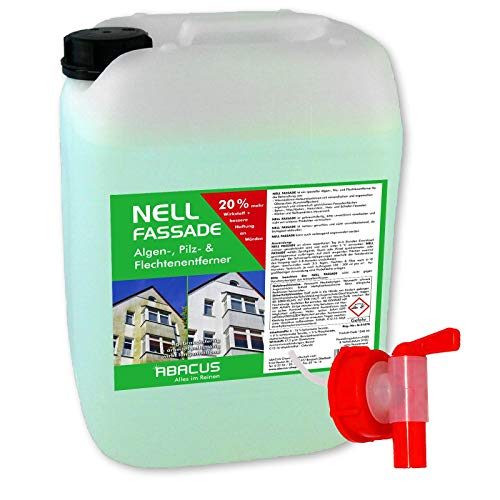 ABACUS 10 Liter Nell Fassade Fassadenreiniger & Grünbelagentferner (7179)