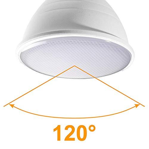 LED-gloeilampen, 10 stuks, LED, spotlight GU10 MR16 E14 E27 6 W 220 V COB chip beam hoek 24 projector 120 graden voor tafellamp wandlamp