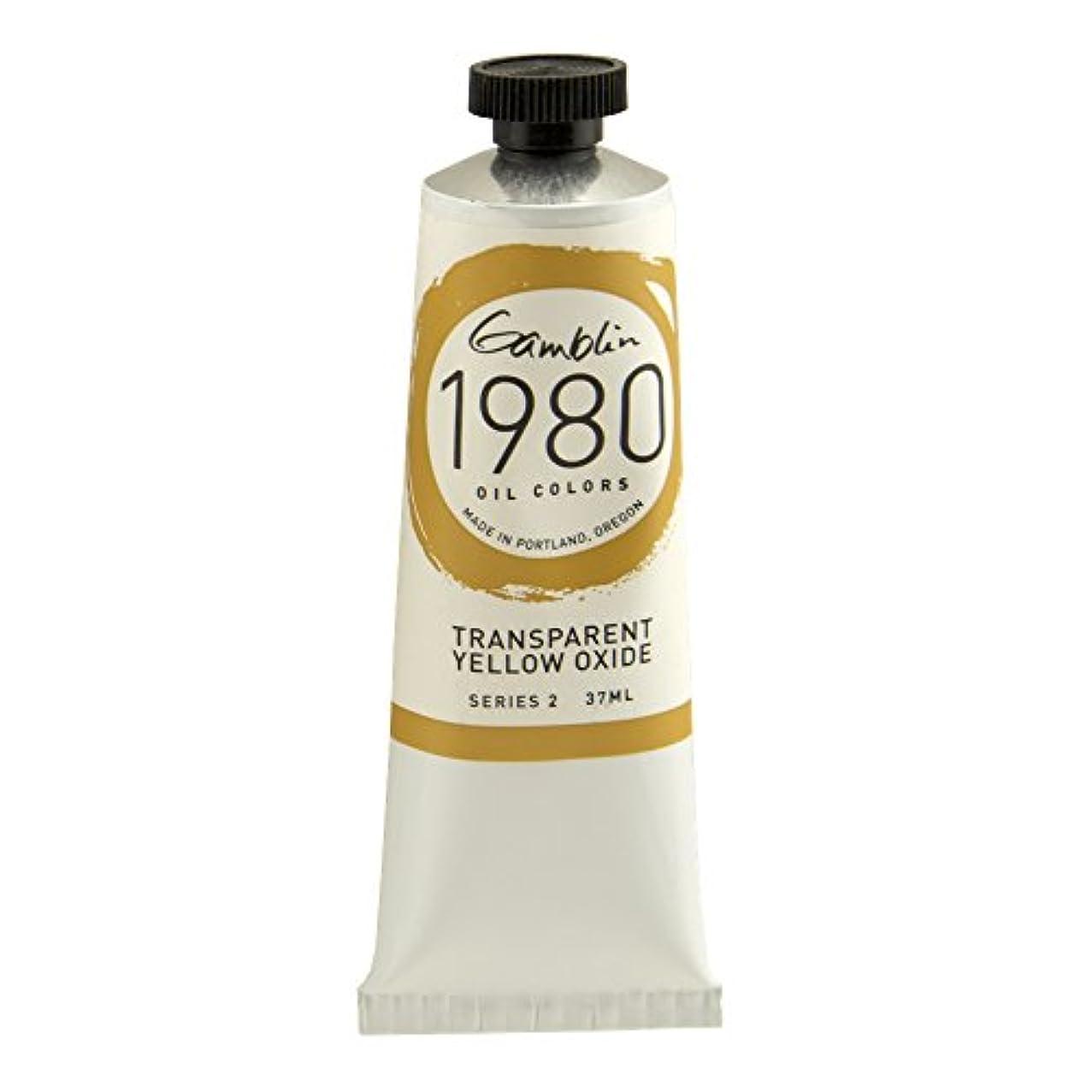 Gamblin 1980 Oil Trans Yellow Oxide 150Ml