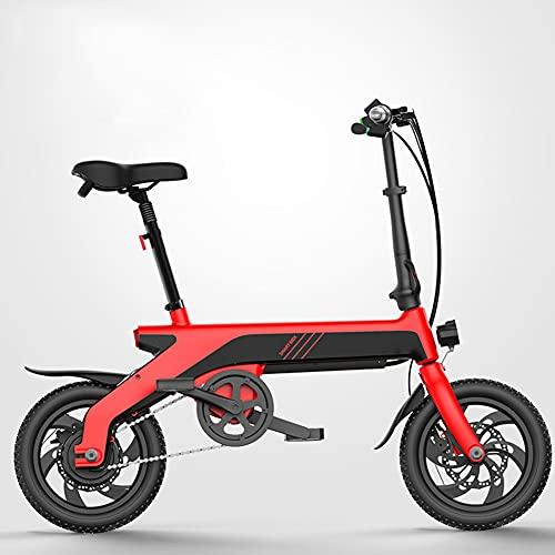 Xiaokang Bicicleta eléctrica eléctrica de 12 Pulgadas de Alto Valor Plegable Bicicleta eléctrica pequeña Adecuada para niñas,D