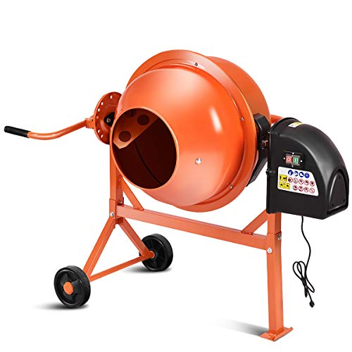 Electric Goplus Cement Mixer
